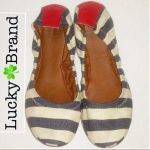 """Lucky 🍀 Brand """"Emmie"""" Flats"""